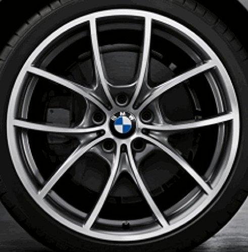 Original BMW Alufelge 5er F10-F11-LCI V-Speiche 356 Glanzgedreht in 20 Zoll für vorne