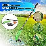 Cordless Trimmer Edger Garden Decoration Tool Portable Trimmer for Garden Garden Weeds Cutter Cordless Mower Trimmer