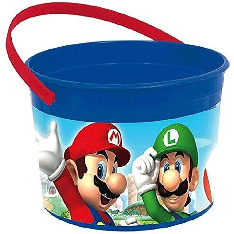 Amscan 261554 Super Mario Favour Container