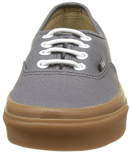 Vans Unisex-Erwachsene Authentic Low-Top Grau ((Gumsole) Pewter/Light Gum)