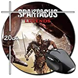 Spartacus Legends Tappetino Per Mouse Tondo Round Mousepad PC