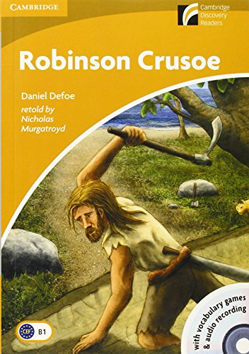 Robinson Crusoe. Con CD Audio. Con CD-ROM