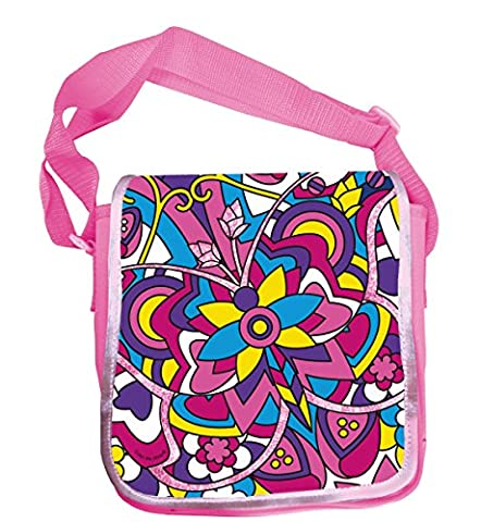 Simba 106372205 - Color Me Mine Diamond Party Messenger Bag 23x27cm
