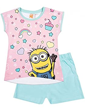 les minions - Camiseta de manga corta - para niña