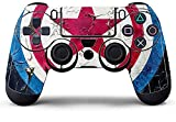 #6: GADGETS WRAP PS4 Controller Designer Skin for Sony PlayStation 4 , PS4 Slim , Ps4 Pro DualShock Remote Wireless Controller - Captain America Shield , Skin for One Controller Only