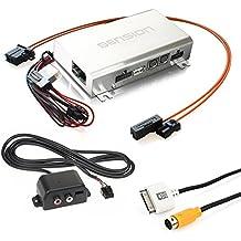 Dension Gateway 500 GW51AU1 Interfaz (iPhone + iPod + USB + AUX) para Audi A4 A5 A6 A8 Q5 Q7 (MMi 2G Basic / High)