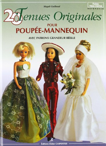20 tenues originales pour poupée-mannequin