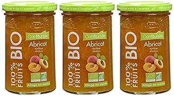 Confiturelle Bio 100% de Fruits Abricot - Lot de 3