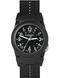 Bertucci 11068Hombres de negro banda de nylon esfera de color negro reloj inteligente