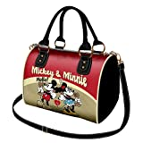 Disney Sac Bandoulière Sac à Main Chest Mickey et Minnie Telephone 24 cm (rouge) 98662