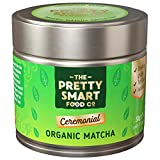 Organic Matcha Green Tea Powder Ceremonial Grade | Japanese Premium Matcha Tea | First Harvest Single Source Leaf | Grade AAA | Detox, Weight Loss Metabolism and Energy | Pure Flavour | 30g
