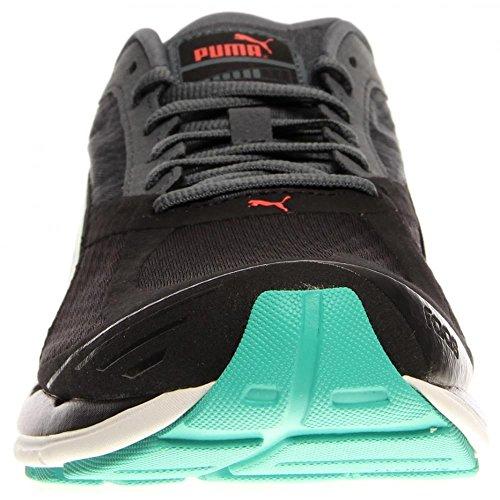 Puma Faas 700 V2 Laufschuh Black/Turbulence/Pool Green
