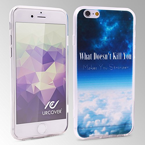 Coque iPhone 6 Plus / 6s Plus,Urcover Housse [Camera Protection] Welcome Summer Semi-rigide Étui téléphone Smartphone Apple iPhone 6 Plus / 6s Plus Case TPU What doesn´t kill you