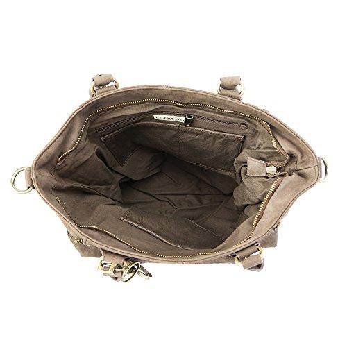 U.S.POLO ASSN. Frau Handtasche Schultertasche - Mod. US15W009-1 Schlamm