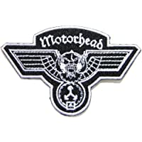 """3.5"""" x 2.5""""Motorhead Hammered Band Logo Heavy Metal Punk Rock Music Jacket T-shirt Patch Sew Iron on Embroidered"""