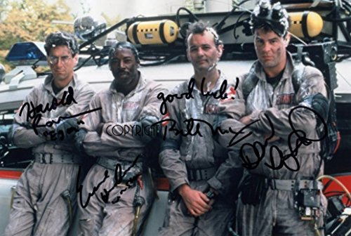 Limited Edition Ghostbusters Guss Signiert Foto Autogramm signiertsigniertes