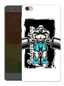 "Humor Gang Body Goals Printed Designer Mobile Back Cover For ""Xiaomi Redmi Mi5"" (3D, Matte Finish, Premium Quality, Protective Snap On Slim Hard Phone Case, Multi Color)"
