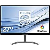 Philips 276E7QDAB/00 68.6 cm (27 Zoll) Monitor (VGA, DVI, HDMI, 1920 x 1080, integrierte Lautsprecher) schwarz