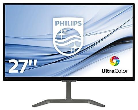Philips 276E7QDAB/00 68.6 cm (27 Zoll) Monitor (VGA, DVI, HDMI, 1920 x 1080, integrierte Lautsprecher)