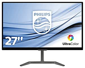 "Philips 276E7QDAB Monitor 27"" LED IPS Full HD, 1920 x 1080, 5ms, Ultra Wide Color, Flicker Free, Elegante, HDMI, DVI, VGA, Attacco VESA, Audio Integrato, Nero"