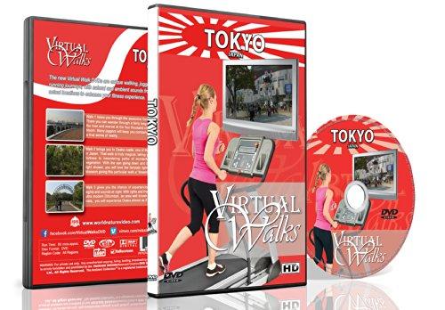 Virtuelle Spaziergänge - Tokio Japan für Innen Walking, Laufband und Rad-Training