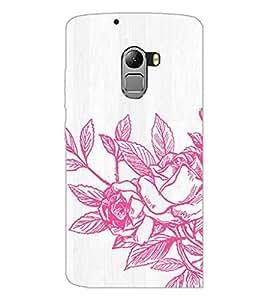 PrintDhaba Flower D-2173 Back Case Cover for LENOVO K4 NOTE A7010 (Multi-Coloured)