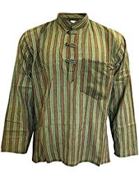 91c4e5c93 Multicolor mix de rayas dharke manga larga ligera con función atril cómoda  camiseta de manga corta