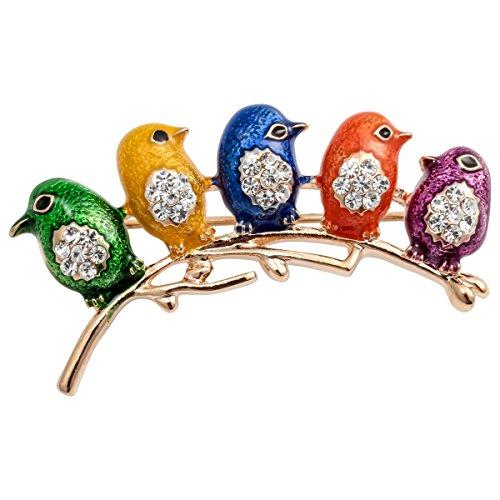 loveangel Schmuck Emaille Ostern Kristall Neugeborene Bird Revers Brosche Pin Kostüm für Ihre Frauen (Frauen Bird Kostüme)