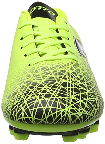Lotto Lzg Viii 700 Fgt, Chaussures de Foot Homme Multicolore - Amarillo / Negro (Ylw Saf / Blk)