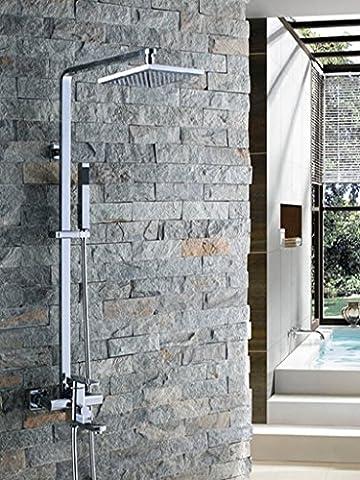 sdkky Elegant und praktisch Dusche, das Projekt ist mit Dusche-Sets, alle Kupfer Dusche