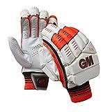 GM Men's 505 Batting Gloves, Red