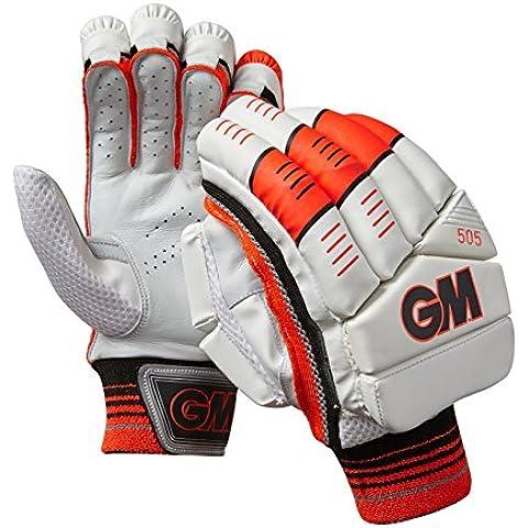 GM–505mano sinistra Batting guanti, taglia unica, colore: rosso/Piccolo - Batting Guanto Set
