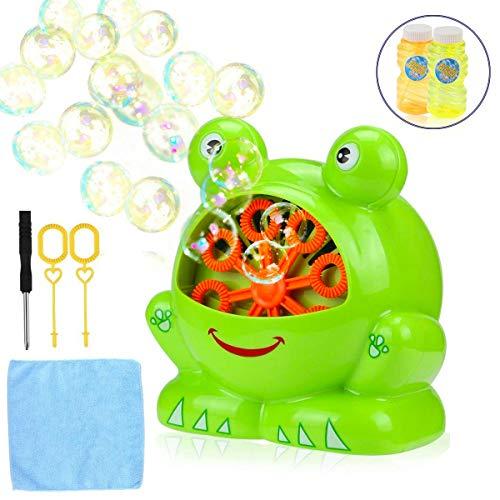 Gentle 1pcs Summer Funny Magic Bubble Blower Machine Bubble Maker Mini Fan For Kids Outdoor Toys For Girls Boys Children Random Color Bubbles