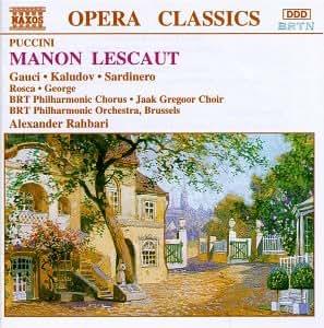 Manon Lescaut-Comp Opera