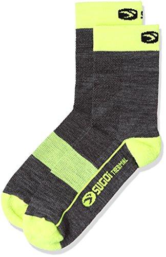 Sugoi RS Winter Socken, Unisex, Super Nova Gelb, Medium -
