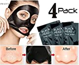 #1: Pilaten Black head White head Remover Charcoal Deep Cleansing Purifying Peel Acne Mask (4 Pack)