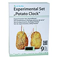 Science Clock Potato Experiment Suitable for 5 year old Hottest Toy Chemistry Gift Present Make Recycling Green Environment Fun Activity Kit Christmas Xmas Birthday Game Timer Boys Boy Kids Childrens