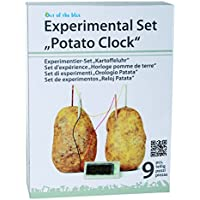 Price comparsion for Boys Boy Girls Girl Child Children Kids - Learn About Chemistry Potato Clock Science Experiment Kit - Great Idea Toys & Games Age 8+ Christmas Xmas Stocking Filler Birthday Easter Gift Present Idea - One Supplied