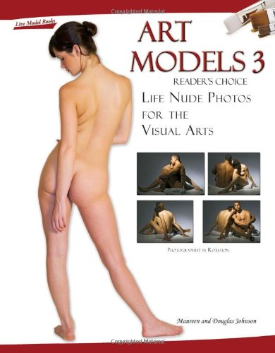 Art Models 3: Life Nude Photos for the Visual Arts [With CDROM]