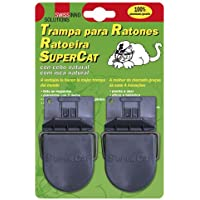 Supercat 14040400 Trampa Ratones Plastico (Blister 2 Piezas)