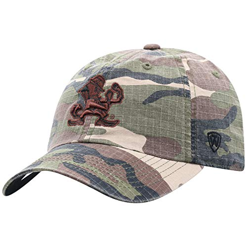 American Hero T-shirt (Top of the World NCAA Notre Dame Fighting Irish Men's American Hero's Adjustable Icon Hat, Camo)