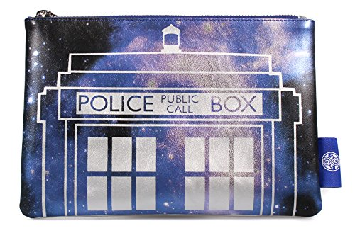 Doctor Who Galaxy Tardis Kulturbeutel Multicolor