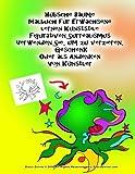 Hübsche Bäume Malbuch für Erwachsene lernen Kunststile Figurativen Surrealismus Verwenden Sie, um zu verzieren, Geschenk Oder als Andenken Von Künstler Grace Divine