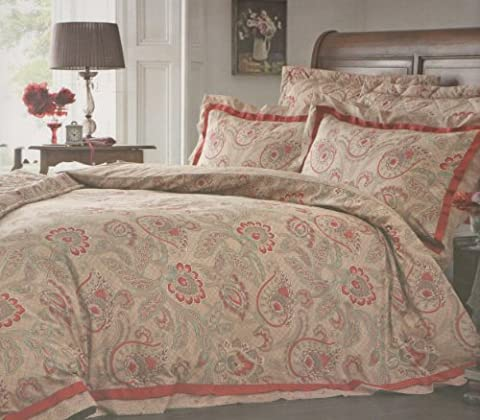 Double Bed Size Country Classics Paisley Design - Asquith -