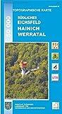 Topographische Karten Thüringen, Eichsfeld, Hainich, Werratal (Topographische Karten Thüringen - Freizeit- und Wanderkarten 1:50000)