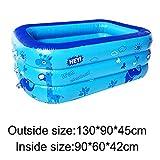 Treslin 3 Schichten erhöhen verdickung Kunststoff aufblasbare luftblase bodenablauf Loch Kinder...
