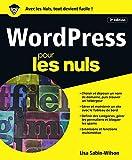 On n'a pas encore trouver mieux pour gérer et mettre à jour un blog professionnel, nous parlons de WordPress bien entendu ! Ce livre s'adresse à tous ceux qui désirent créer et mettre à jour un blog, voire un site Internet dans sa totalité avec Wo...