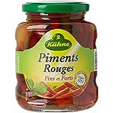 Kühne Piments Rouges 165 g - Lot de 5