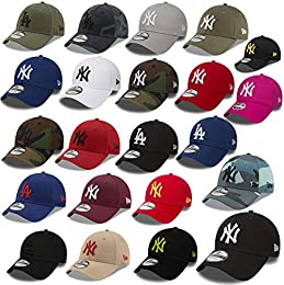 baseball caps bekleidung amazon de  new era 9forty strapback cap mlb new york yankees los angeles dodgers herren damen cap kappe