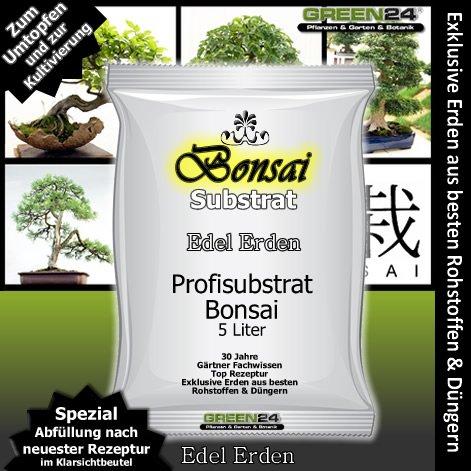 Bonsaierde Bonsaisubstrat - 5 Ltr. PROFI LINIE Substrat für Bonsai
